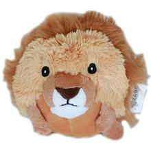 Roundimal Squeaky Dog Toy - Lion
