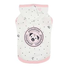 Royal Pug Hooded Dog Shirt by Pinkaholic - Off White