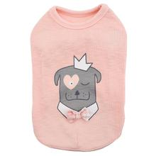 Royal Pups Dog Shirt by Pinkaholic - Peach