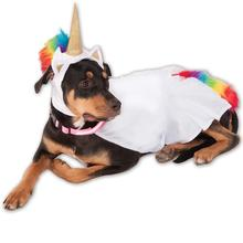 Rubies Big Dog Light Up Collar Unicorn Dog Costume