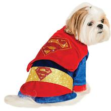 DC Comics Cuddly Superman Dog Costume by Rubies