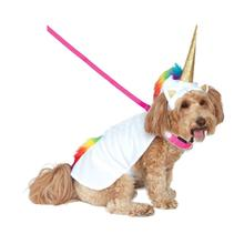 Rubies Light Up Collar Unicorn Pet Costume