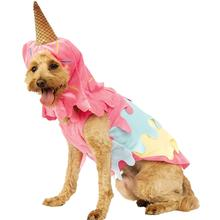 Rubies Dripping Ice Cream Cone Dog Costume