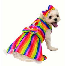 Rubies Rainbow Party Dog Dress