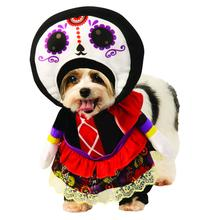 Rubies Walking Day of the Dead Lady Dog Costume
