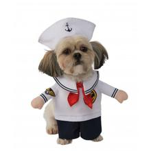 Rubies Walking Sailor Dog Costume