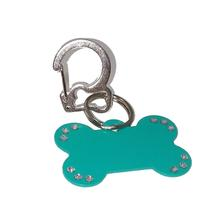 Rubit Bone Dog Tag Clip - Silver