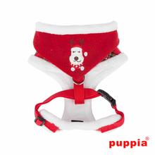 Rudolph Adjustable Dog Harness by Puppia - Checkered Red