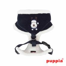 Rudolph Adjustable Dog Harness by Puppia - Navy