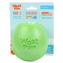 Rumbl Dog Toy by West Paw - Jungle Green
