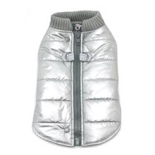 Runner Dog Coat by Dogo - Silver