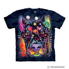 Russo Doberman Human T-Shirt by The Mountain