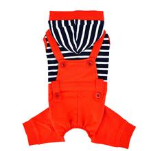 Finn Dog Jumpsuit by Puppia - Orange Red