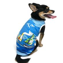 Sailboat Dog Tank by Dogo