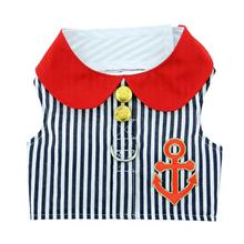 Sailor Boy Fabric Dog Harness Vest by Doggie Design