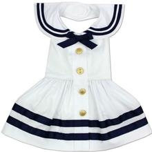 Sailor Girl Dog Costume Dress by Parisian Pet