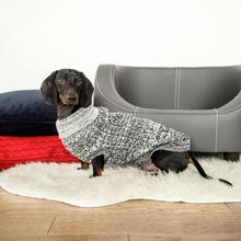 Salen Dog Sweater - Black