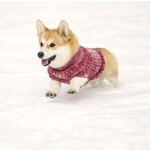 Salen Dog Sweater - Candy Red