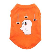 Sammy the Ghost Dog and Cat Shirt - Orange