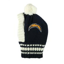 Los Angeles Chargers Knit Dog Hat