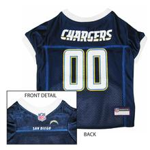 San Diego Chargers Officially Licensed Dog Jersey