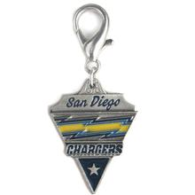 San Diego Chargers Pennant Dog Collar Charm