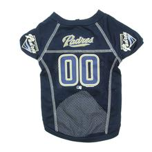 San Diego Padres Dog Jersey - Navy