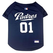 San Diego Padres Officially Licensed Dog Jersey - Navy Blue