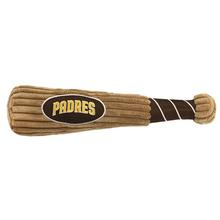 San Diego Padres Plush Baseball Bat Dog Toy