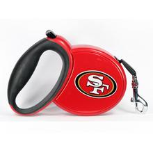 San Francisco 49ers Retractable Dog Leash