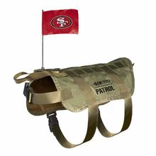 San Francisco 49ers Tactical Vest Dog Harness