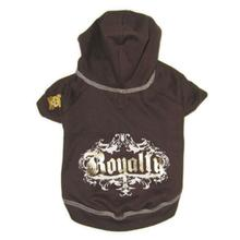 Royalty Dog Hoodie - Chocolate