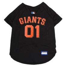 San Francisco Giants Officially Licensed Dog Jersey - Black