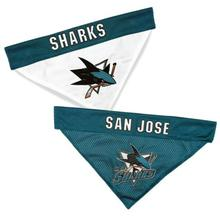 San Jose Sharks Reversible Dog Bandana Collar Slider