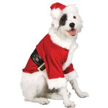 Santa Claus Dog Costume by Rubies