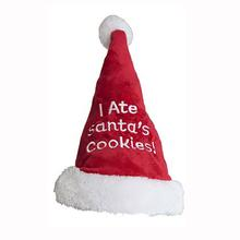 Santa Dog Hat - I Ate Santa's Cookies