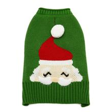 Santa Face Dog Sweater by Dogo