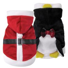 foufou Dog Santa/Penguin Reversible Suit Jacket