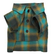 Savannah Dog Flannel Shirt by Dog Threads