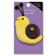 Savvy Tabby Glitter Critters Cat Toy - Snail