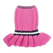 School Girl Dog Sweater Dress by Dogo
