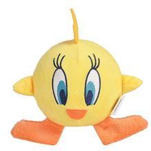 Looney Tunes Tweety Bird Ball Body Plush Dog Toy