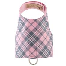 Scotty Bailey Dog Harness by Susan Lanci - Puppy Pink Plaid