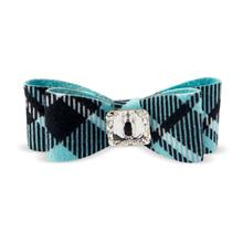 Scotty Big Bow Dog Hair Bow by Susan Lanci - Tiff Plaid