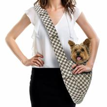 Windsor Check Dog Cuddle Carrier by Susan Lanci