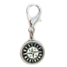Seattle Mariners Logo Dog Collar Charm