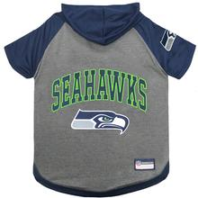 Seattle Seahawks Hooded Dog T-Shirt