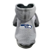 Seattle Seahawks NFL Dog Hoodie - Gray