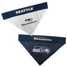 Seattle Seahawks Reversible Dog Bandana Collar Slider