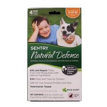 Sentry Natural Defense 4-Month Flea/Tick Squeeze-On Treatment for Dogs